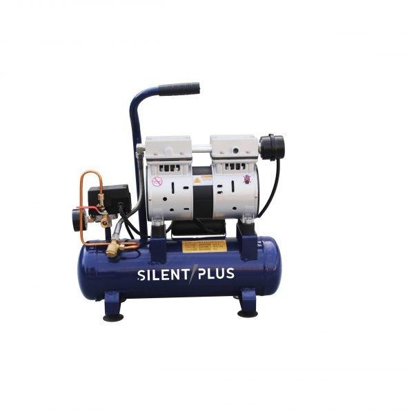9L portable silent industrial air compressor