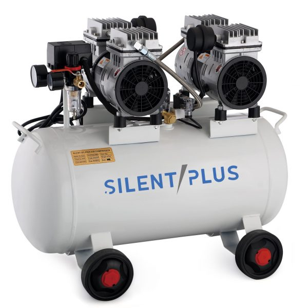 Compresseur d'air silencieux 1.5HP 50L