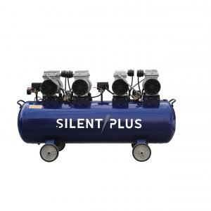 160L quiet ol-free piston air compressor