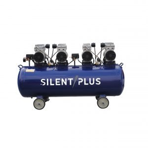 200L 4HP silent oilless air compressor