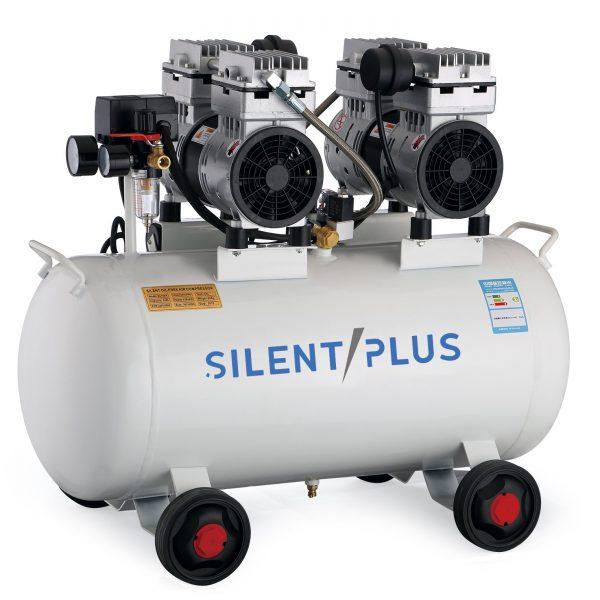 Compressores de ar sem óleo horizontais 2HP | Alta eficiência