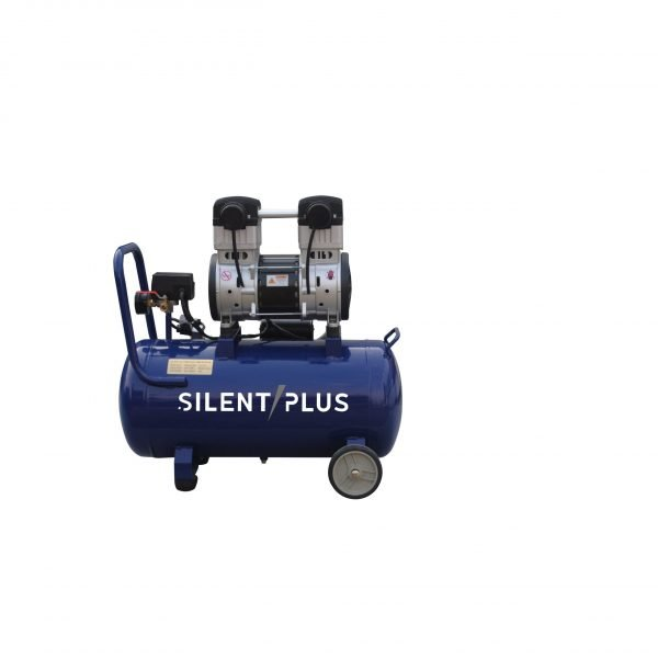 Compresor de aire libre de aceite silencioso portátil de cobre 40L 1100w Alto rendimiento