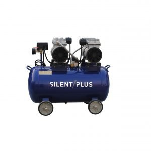 50L 1100W oil-free head silent air compressor